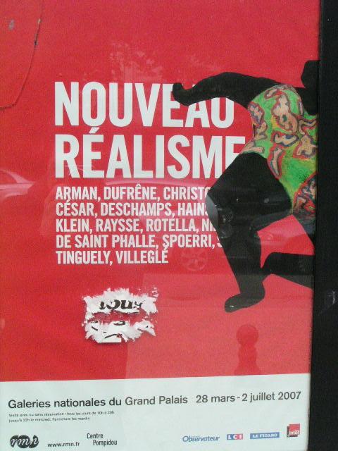 le nouveau réalisme - Paris le Grand Palais