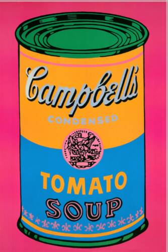 Andy Warhol - soup Campbell