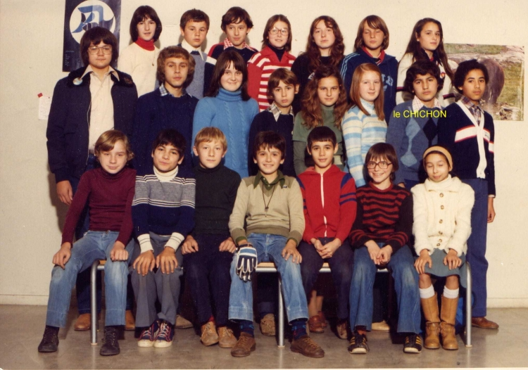 Photo de classe, quand j'étais grand