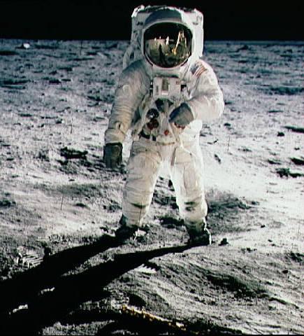 Le pied sur la lune 1969