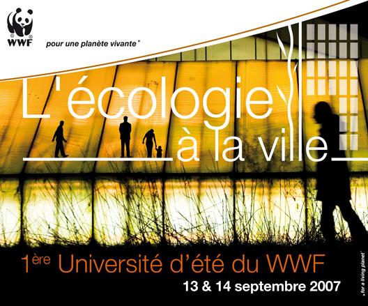 WWF - Université d'été 13 et 14 septembre 2007