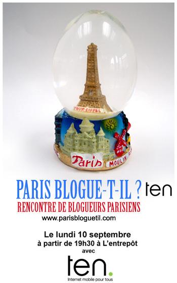 Paris blogue-t-il ?