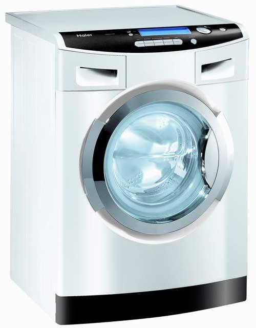 Haier, lave-linge sans lessive