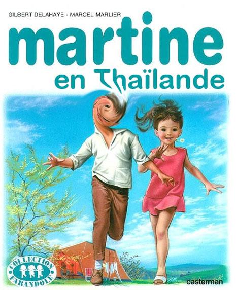 Martine en Thaïlande...