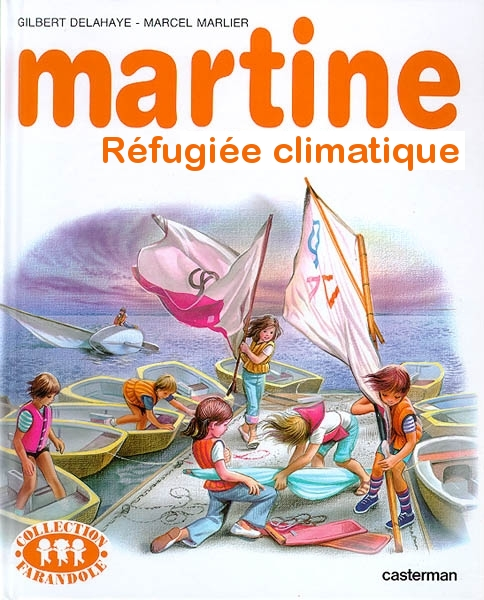Martine, réfugiée climatique