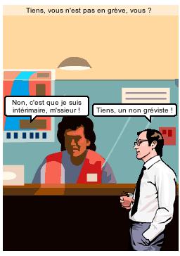 La grève en BD