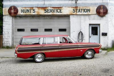 Ford Falcon Squire Wagon, 1964